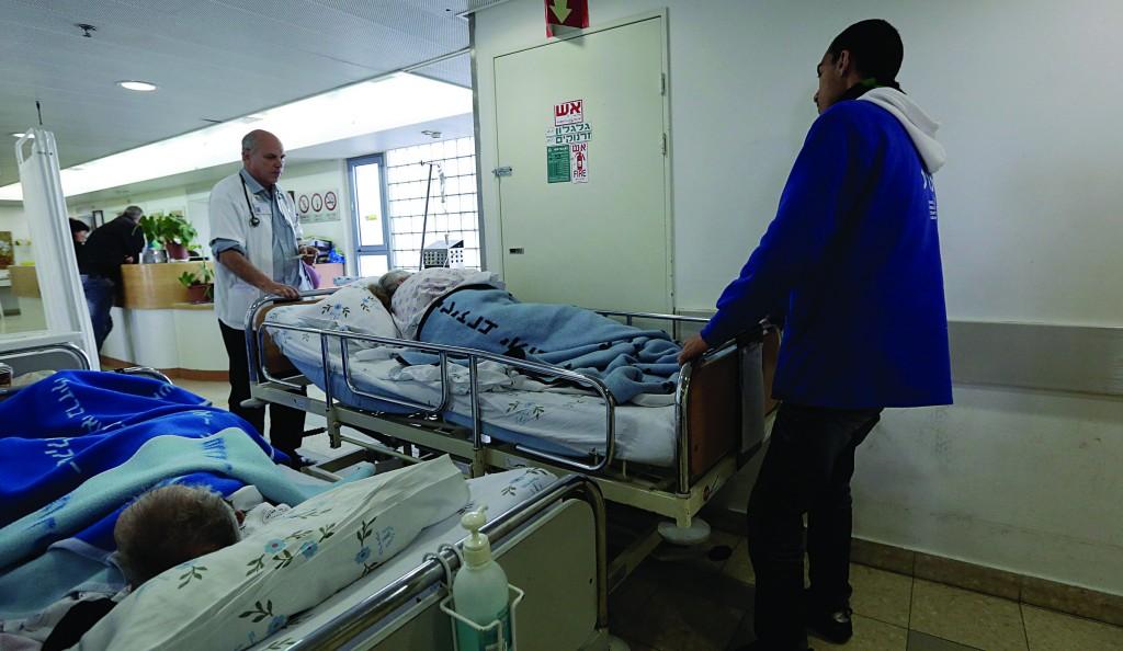 Ashkelon Barzilai Hospital (Flash90)