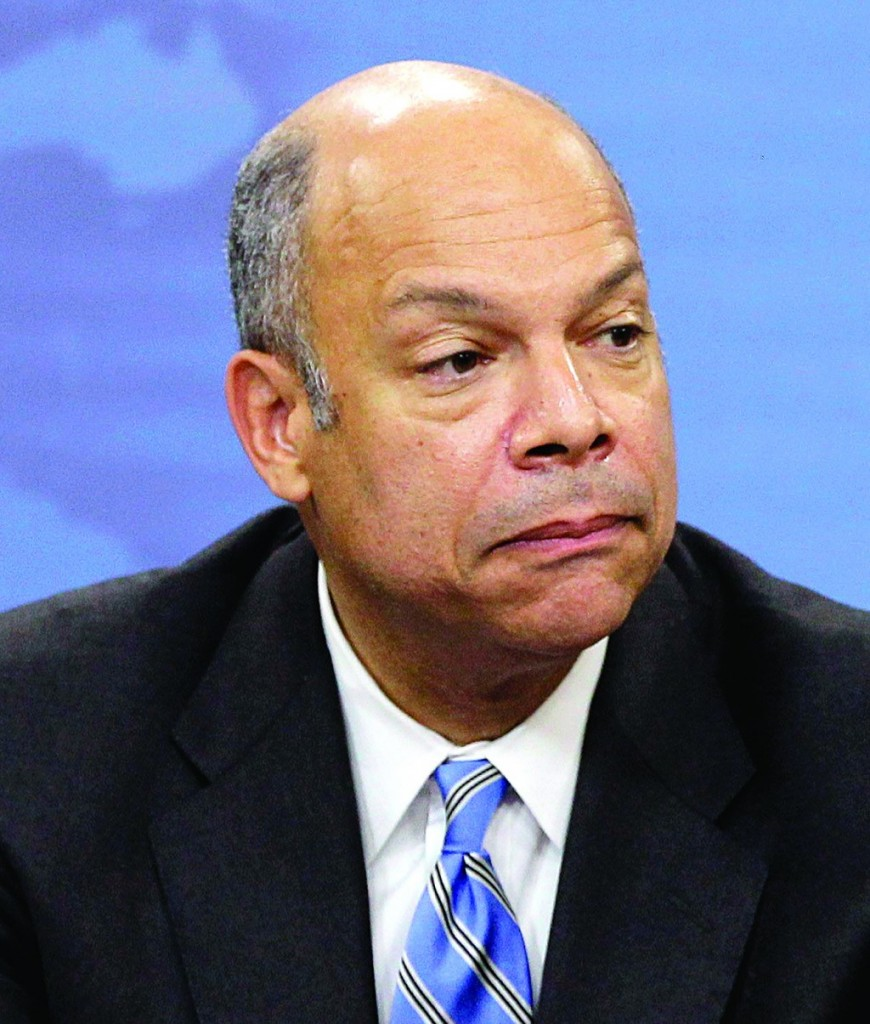 Jeh Johnson speaks during a recent news conference at the Pentagon in Washington. (AP Photo/Charles Dharapak, File)
