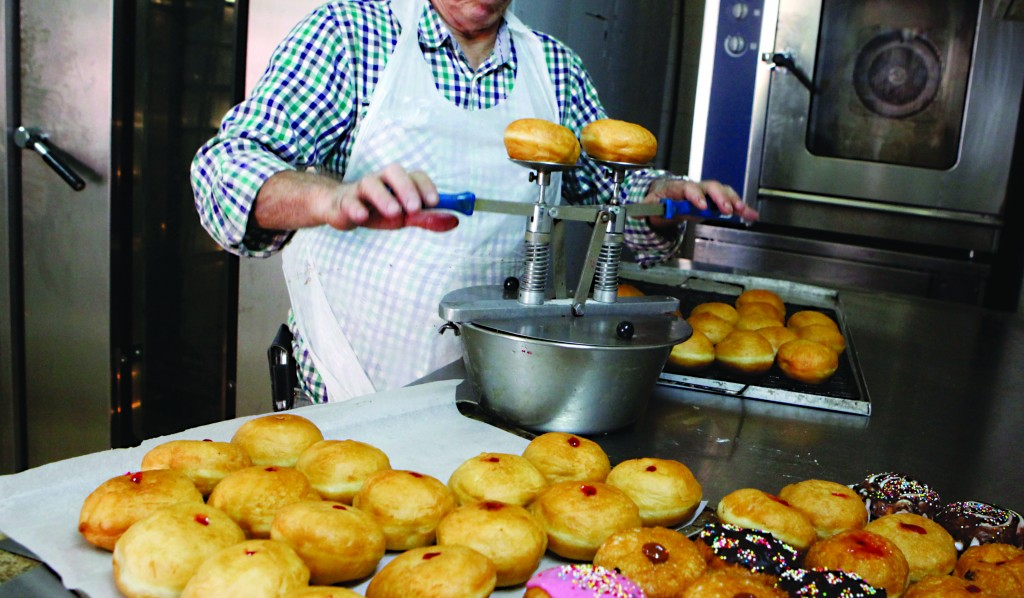 Doughnuts, among other fried and baked confections, will be coming under new Food and Drug Administration regulations in the United States with the agency's requirement to phase out the use of trans fats. (Miriam Alster/FLASH90)