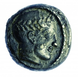 A coin from the reign of King Antiochus III.