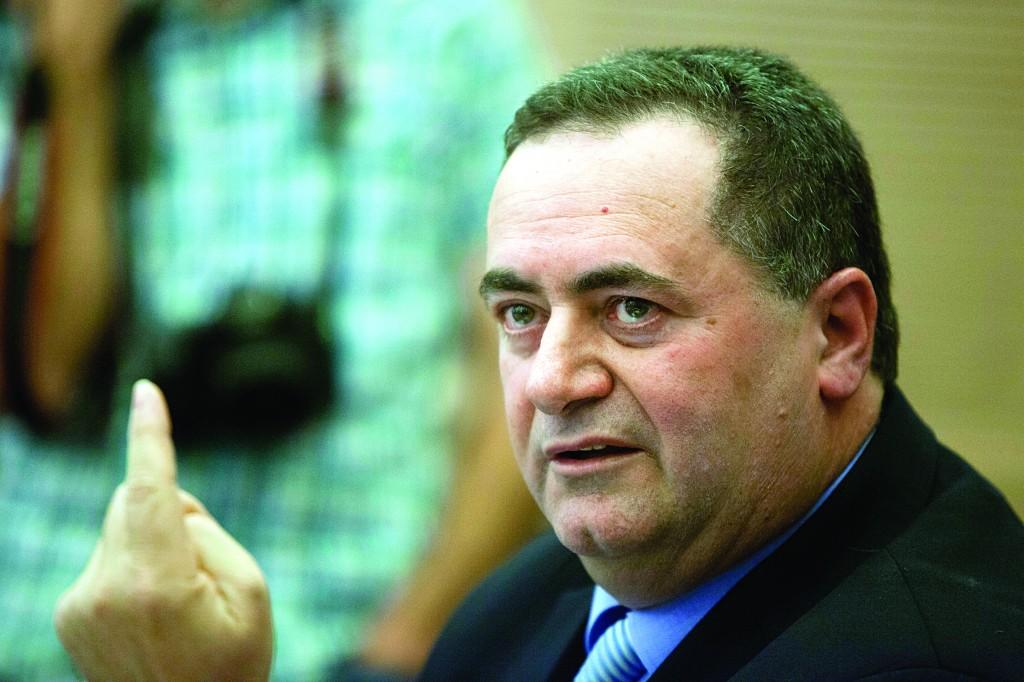Israeli Minister of Transportation Yisrael Katz (FLASH90)