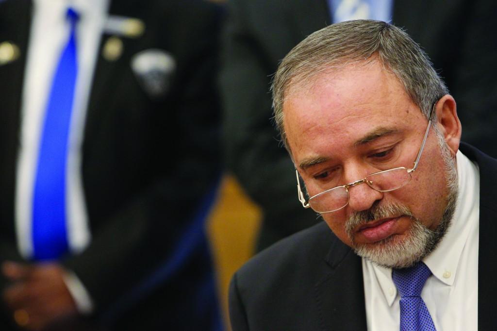 Israeli Foreign Minister Avigdor Liberman. (Miriam Alster/FLASH90)