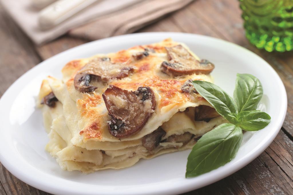 Лазанья с грибами рецепт с фото