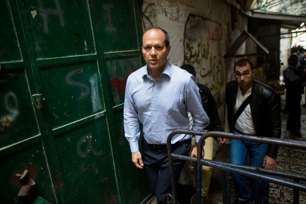 Jerusalem Mayor Nir Barkat. Photo by Yonatan Sindel/Flash90