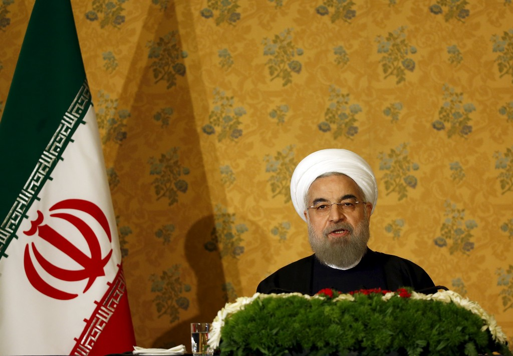 Iran President Hassan Rouhani REUTERS/Alessandro Bianchi