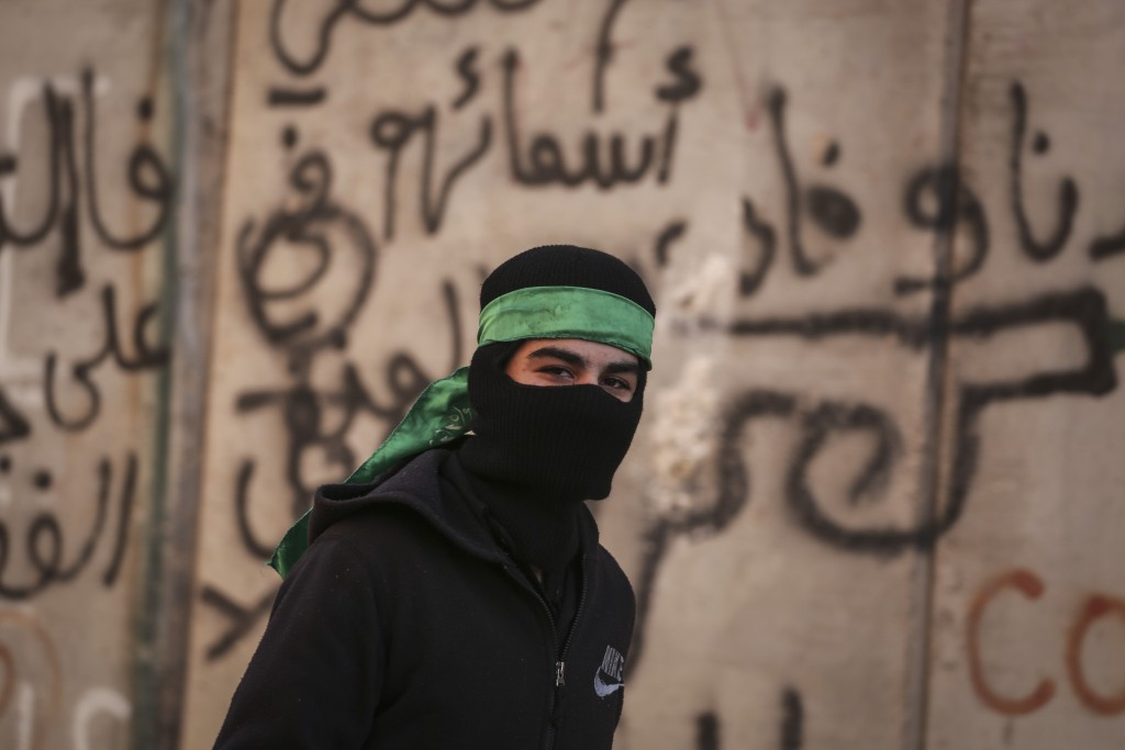 Hamas terrorist. Photo by Hadas Parush/Flash90