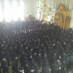 Harav Baruch Dov Povarsky is maspid at Ponevezh Yeshivah. (Hachadashot Hachamot)