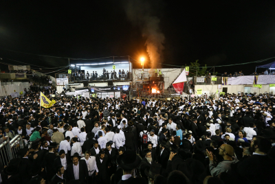 Meron on Lag B'Omer Photo by Meir Vaknin/Flash90