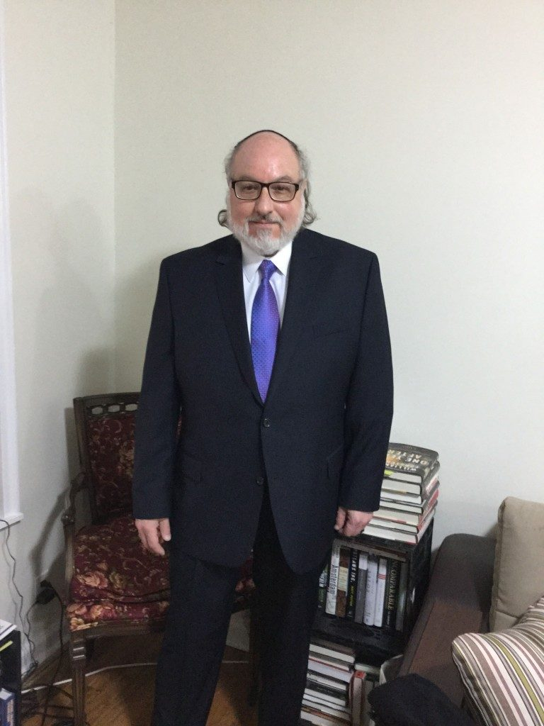 Jonathan Pollard, shortly before attending a meeting with of the Conference of Presidents of Major American Jewish Organizations on Monday. (Justice4JP)