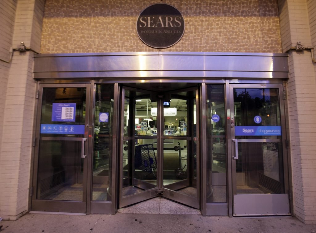 The Sears store in Chicago. (AP Photo/Kiichiro Sato)