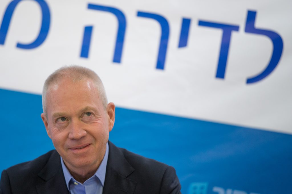 Minister of Housing Yoav Galant (Yonatan Sindel/Flash90)