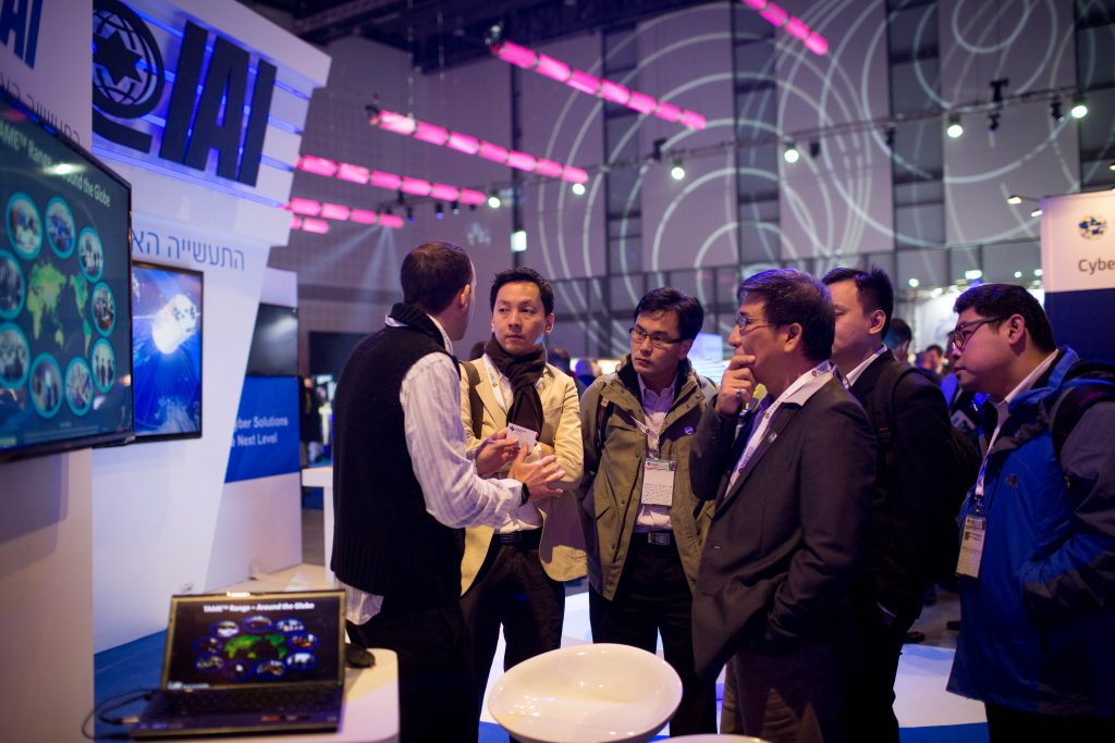 Leading multi-national corporates, SMB's, start-ups, private and corporate investors, venture capital firms, experts and clients attend the Cybertech Israel Conference and Exhibition, in Tel Aviv, on January 26, 2016. Photo by Miriam Alster/FLASH90 *** Local Caption *** ????? ??? ??? ?? ?? ???? ?????????