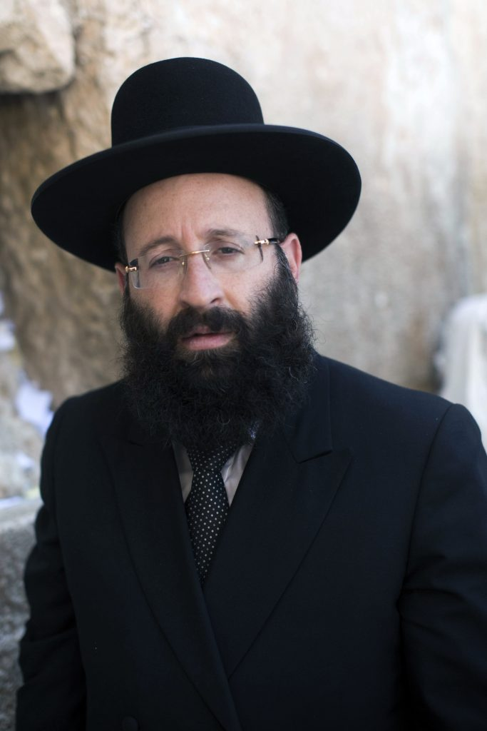 Rabbi Shmuel Rabinowitz (Yonatan Sindel/Flash90)