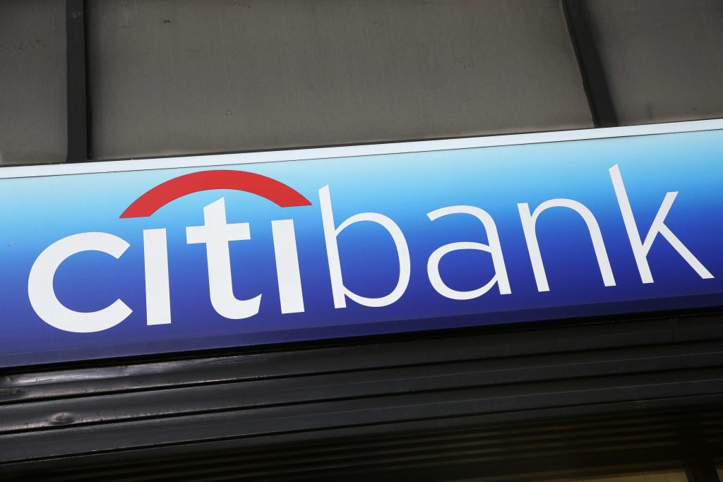 Citigroup earnings: $1.28 per share, vs expected EPS of $1.21