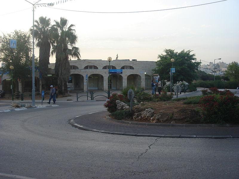 Kiryat Arba Square. (Bait Hashalom)