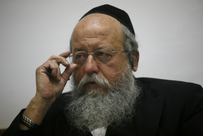 MK Menachem Eliezer Mozes. Photo by Miriam Alster/Flash90