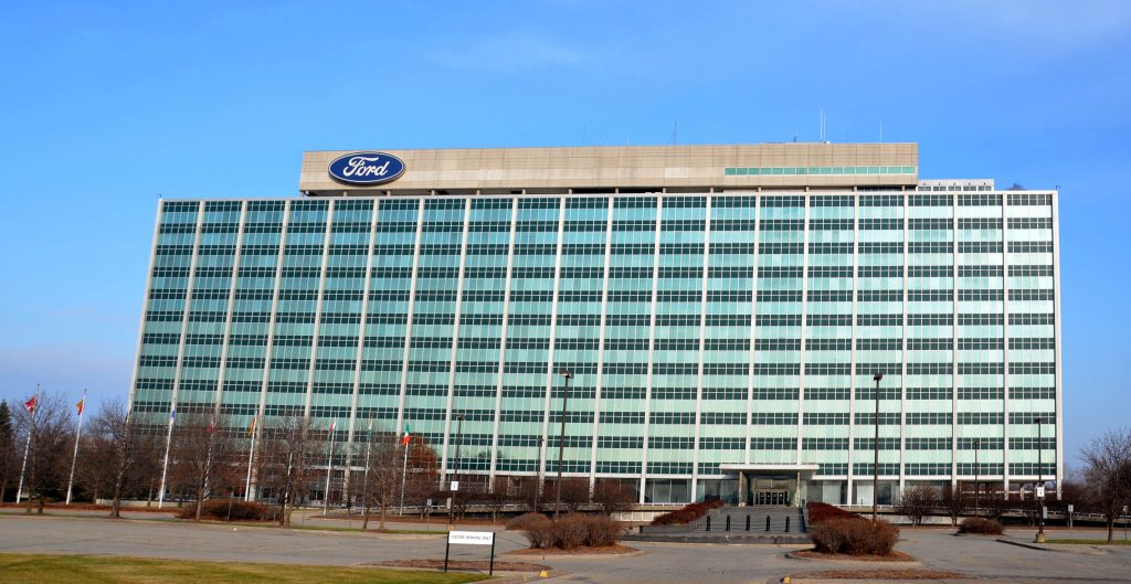 New broker ratings for ford motor company nyse f for Ford motors corporate office