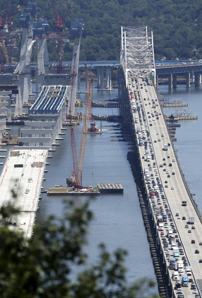 First Span Opens on the Tappan Zee Hudson River Crossing