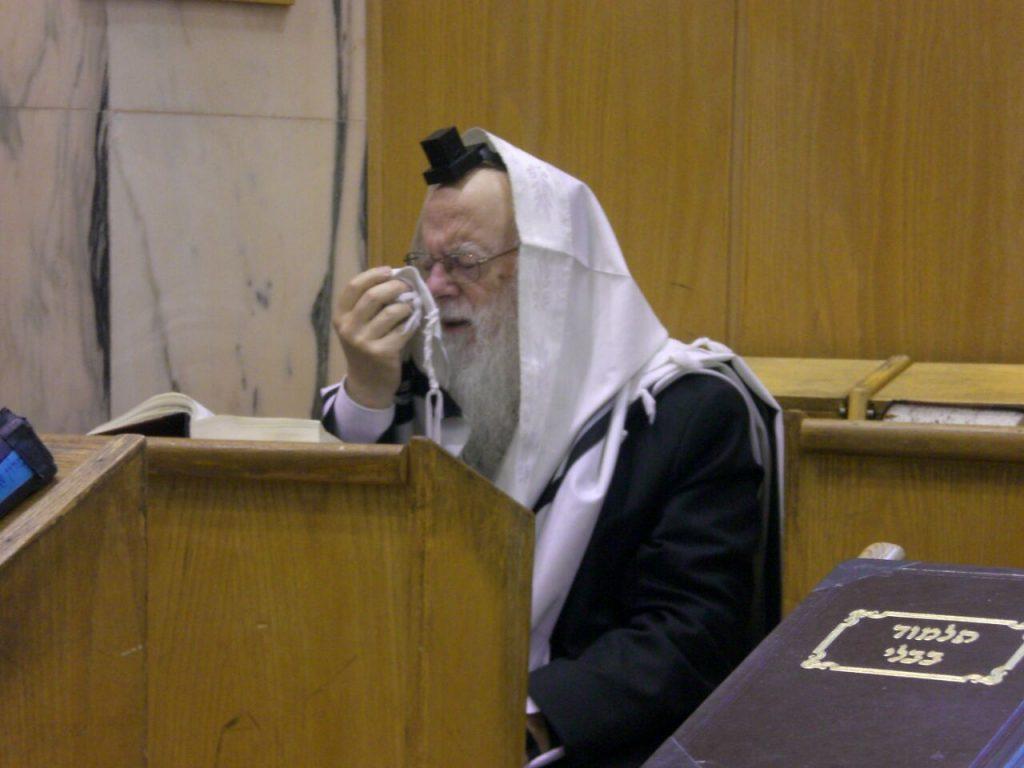 """Harav Toledano, zt""""l. (Eliyahu Vazanah)"""