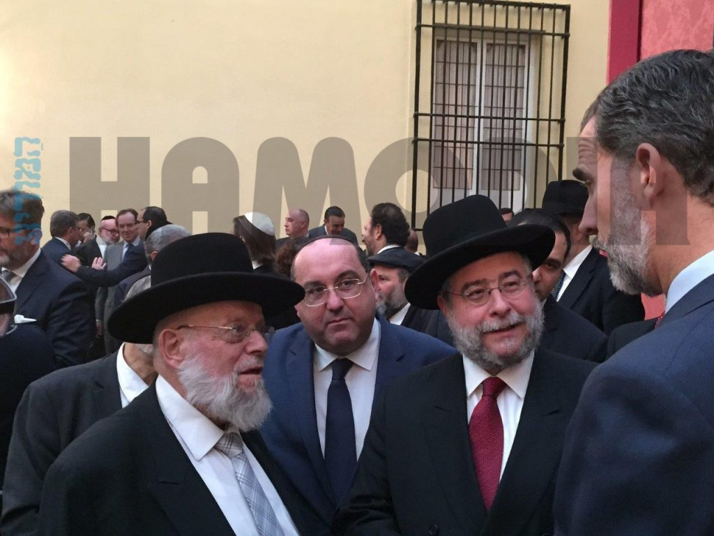 Dayan Ehrentrau with King
