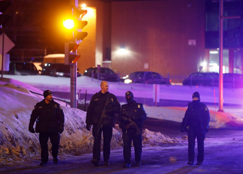 Canadian PM: Mosque Shooting A 'Terrorist Attack On