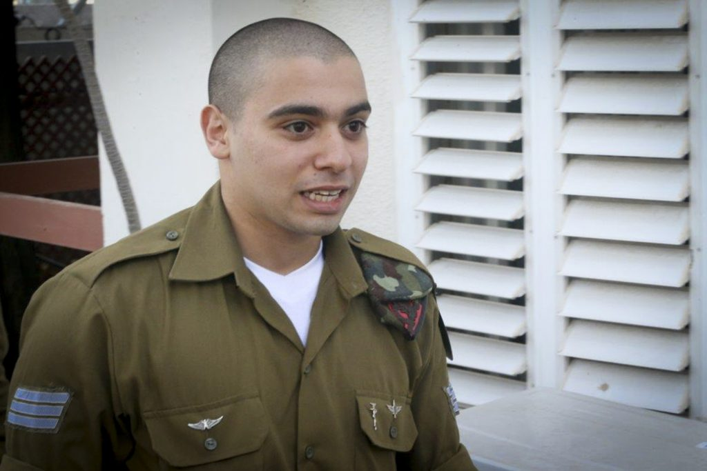 Elor Azaria to be moved from military base to house arrest