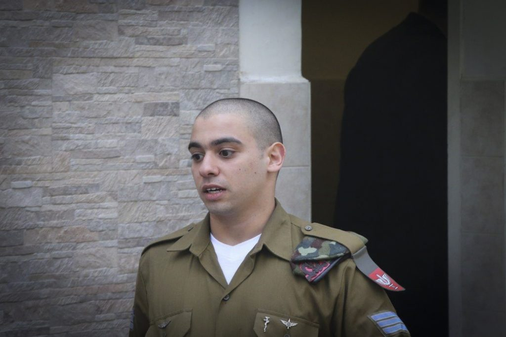 Hebron shooter seeks to delay prison entry until ruling from army chief