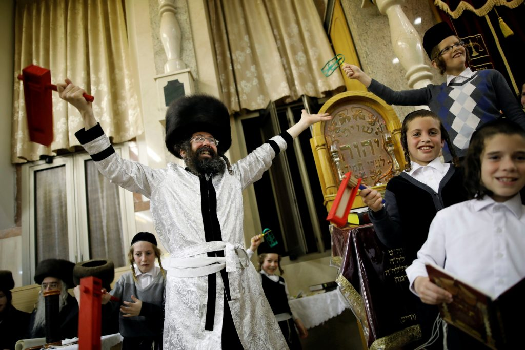 Celebrating Purim in Eretz Yisrael: Hamodia Jewish News