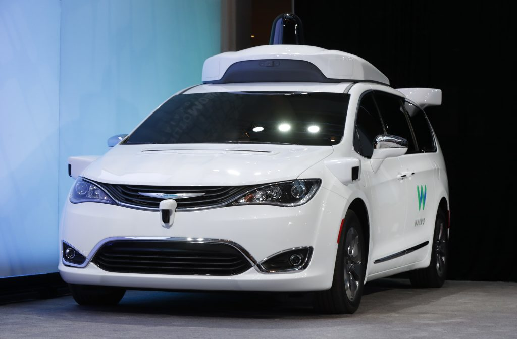 FCA, Google, Self-Driving, Cars