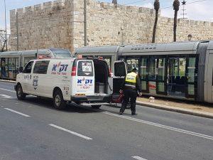 terror, Palestinian, Yerushalayim, Jerusalem, Israel, stabbing, light rail, British, U.K., UK