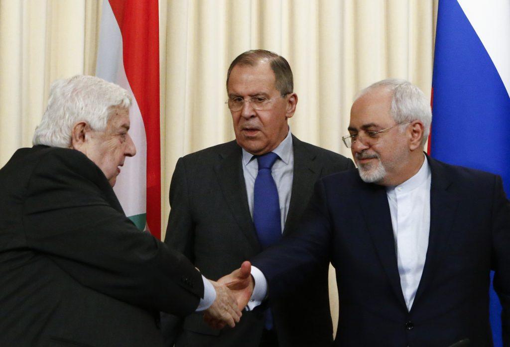 Russia, Syria, Iran, U.S., chemical