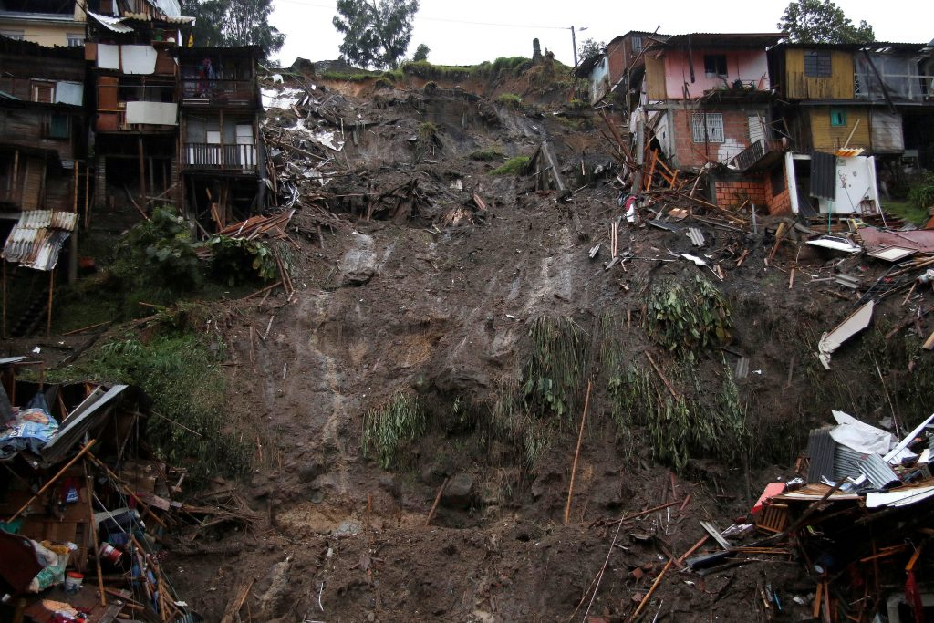 People Killed, Colombia Landslide, Missing