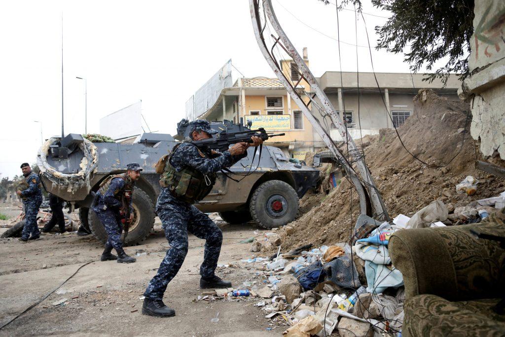 U.S., Chemical Agent, Mosul Attack