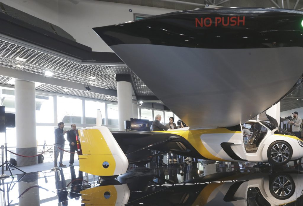 flying car, aeromobil