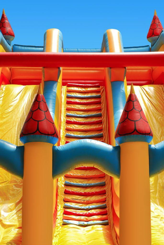 Girl, Dies, Bouncy Castle, Airborne
