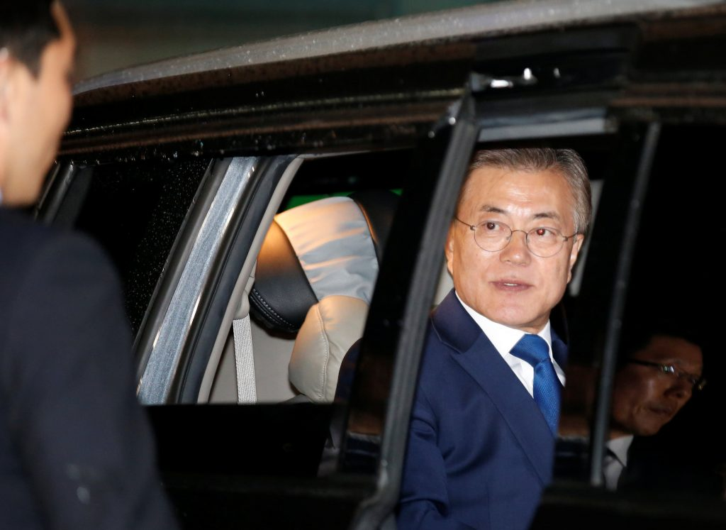 Liberal Moon Jae-in set to win South Korean presidency