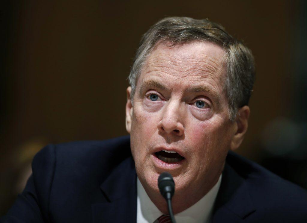 Senate, Confirms, President Trump, Trade Representative, NAFTA, Talks