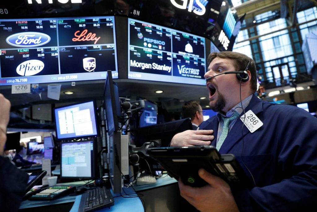 United States stock market opens higher