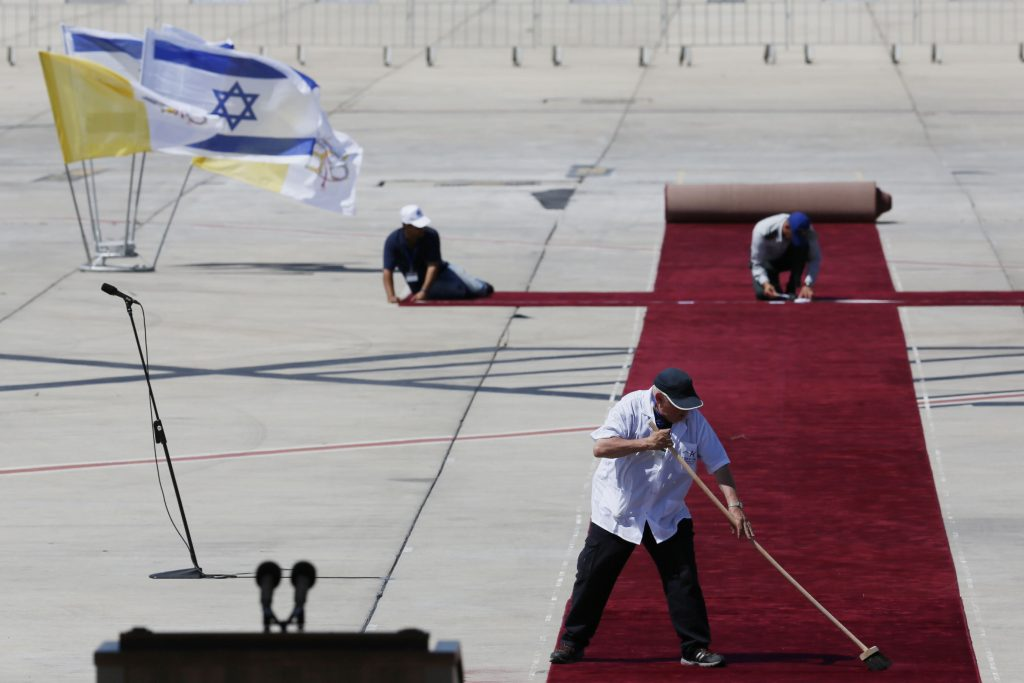 Israel, Red Carpet, President Trump
