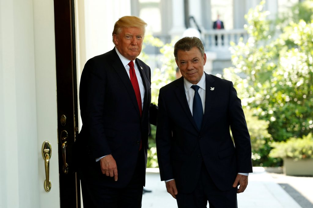 President Trump, Colombia's President, White House