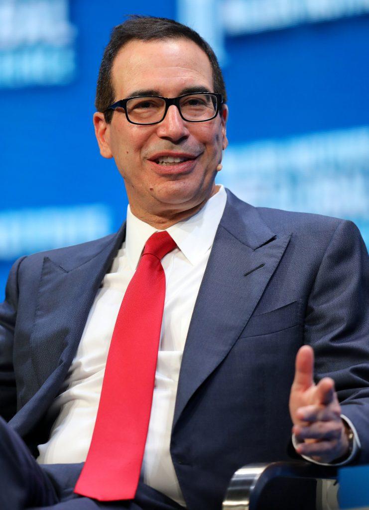 Mnuchin, Wall Street, U.S., Bonds