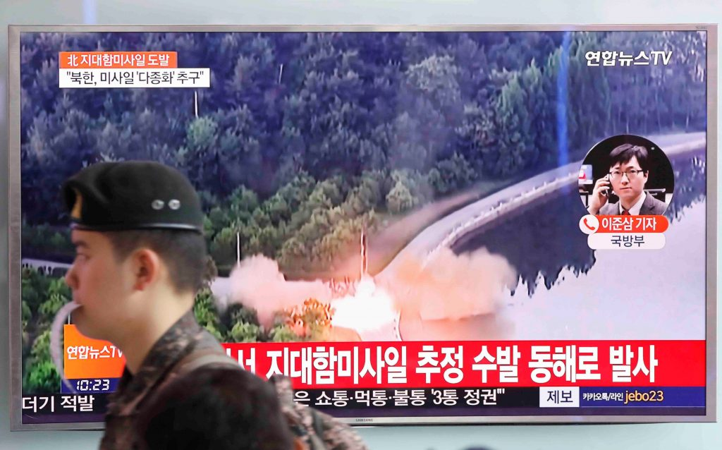 North Korea says it tested new anti-ship missile