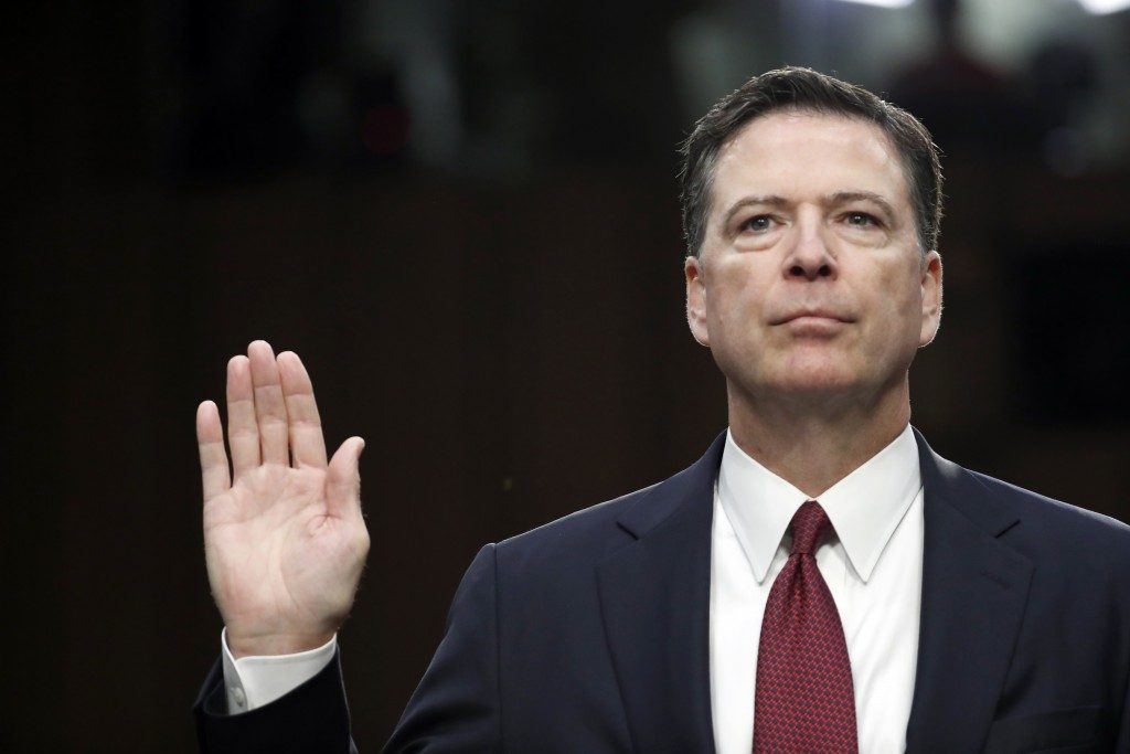 CNN sues Justice Department for copies of Comey's memos on Trump