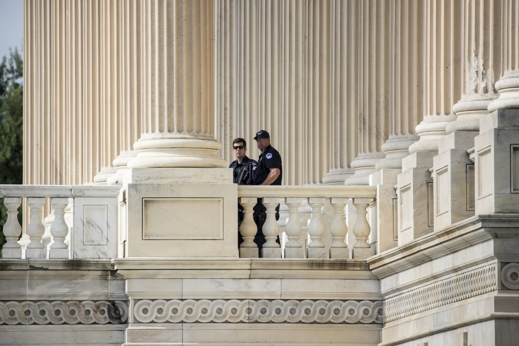 Lawmakers, Talk, More Security, Packing a Gun, Shooting