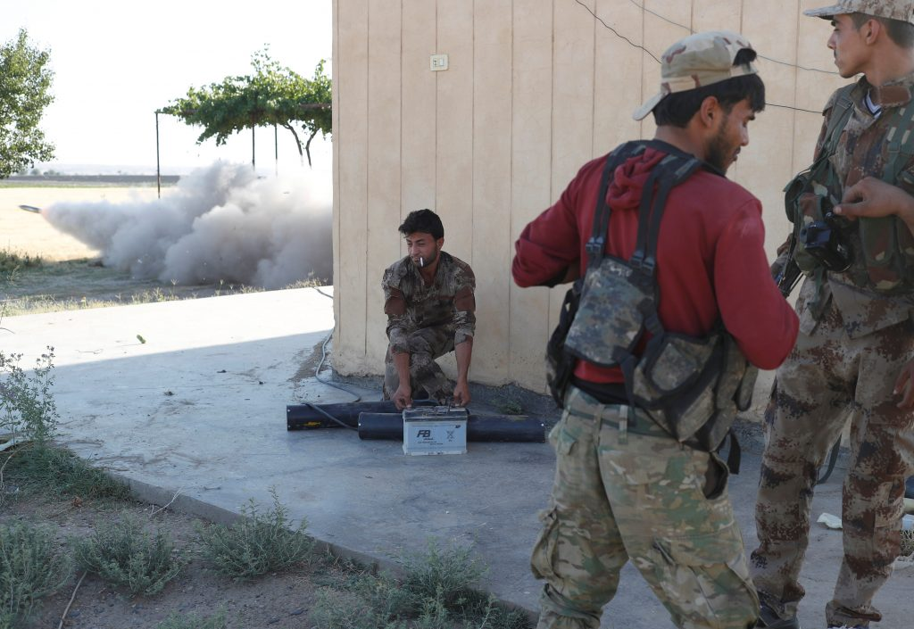 Spirits High, Kurds, Syria, Coalition, Battles, Raqqa