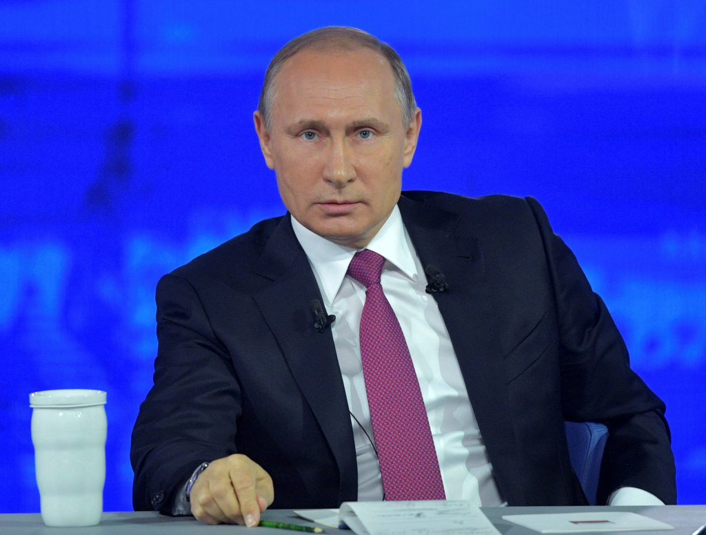 Dissent, Cameo Role, Putin, Phone-In, Session
