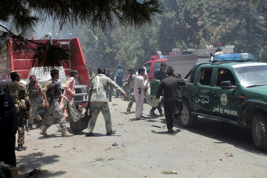 At least 29 killed in southern Afghanistan bombing