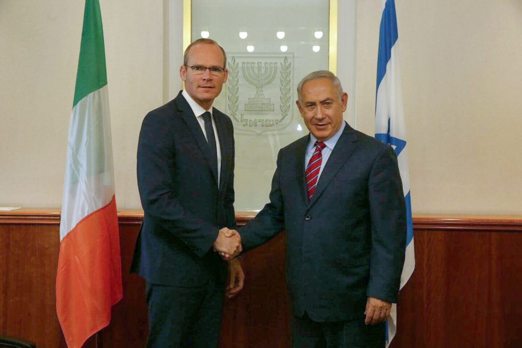 Netanyahu Criticizes Irish Foreign Minister Over Support For Palestinians