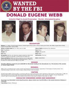 Donald Eugene Webb, FBI