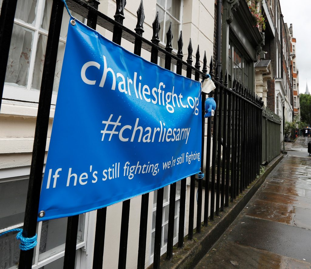 'Our lovely little boy has gone': Family confirm Charlie Gard has died